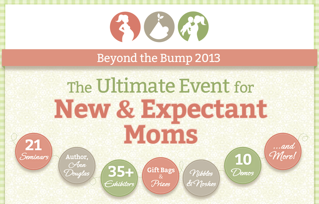 Beyond the Bump: Saturday 9/21/13